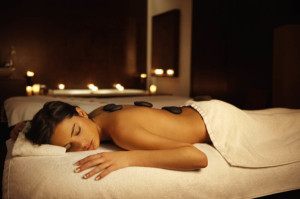 Hot Stone Massage Treatments - Martina's Spa Puerto Morelos, Mexico
