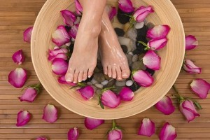 Spa Pedicure - Martina's Spa Services in Puerto Morelos, Mexico